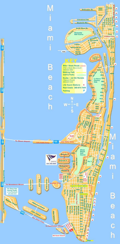 kart over miami beach Miami beach kart   Kart over Miami beach (Florida   USA) kart over miami beach